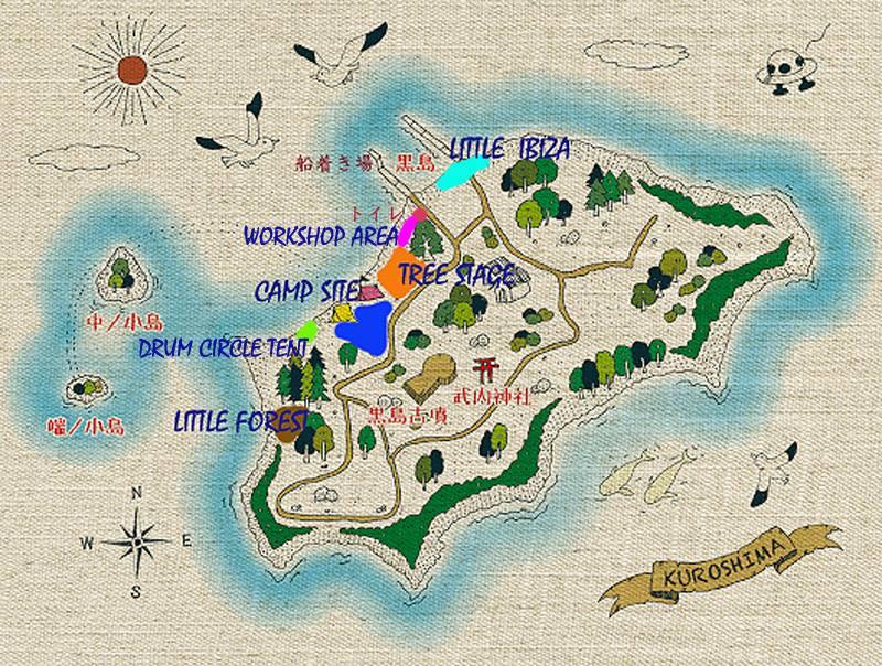 黒島MAP公開!