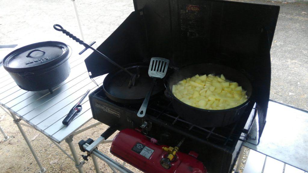 ダッチオーブン料理教室