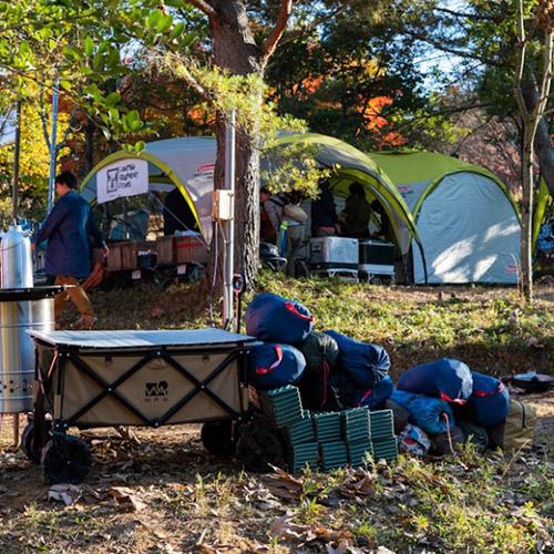 ウンカイナチュラルキャンプ2021のキャンプ